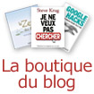 La boutique du blog